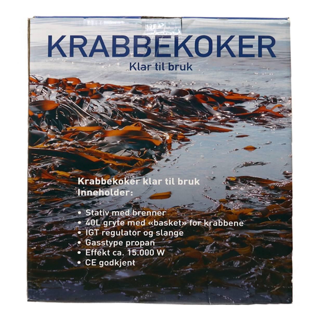 Krabbekokersett 15000W